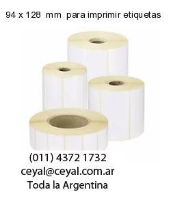 94 x 128  mm  para imprimir etiquetas