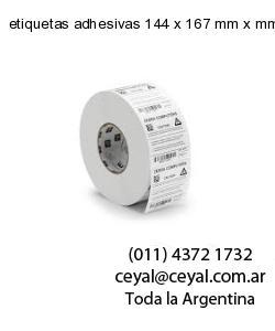etiquetas adhesivas 144 x 167 mm x mm