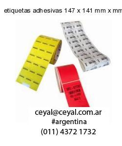 etiquetas adhesivas 147 x 141 mm x mm