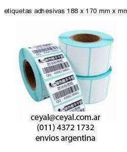 etiquetas adhesivas 188 x 170 mm x mm