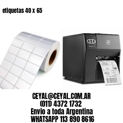 etiquetas 40 x 65