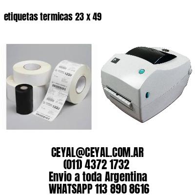 etiquetas termicas 23 x 49