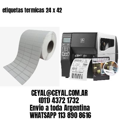 etiquetas termicas 24 x 42