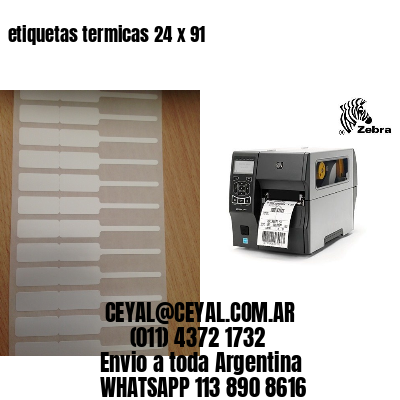 etiquetas termicas 24 x 91