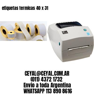 etiquetas termicas 40 x 31