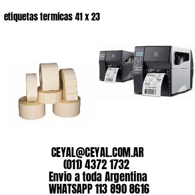 etiquetas termicas 41 x 23