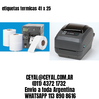 etiquetas termicas 41 x 25