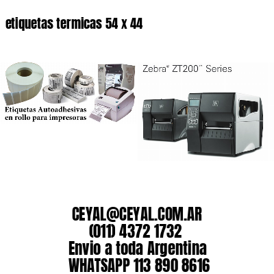 etiquetas termicas 54 x 44