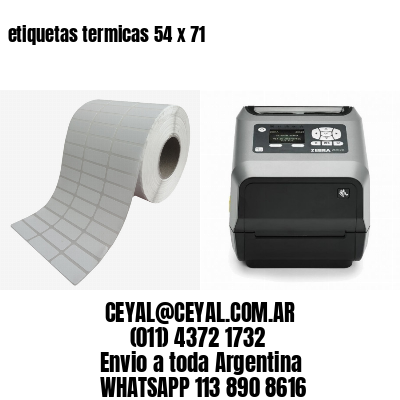 etiquetas termicas 54 x 71