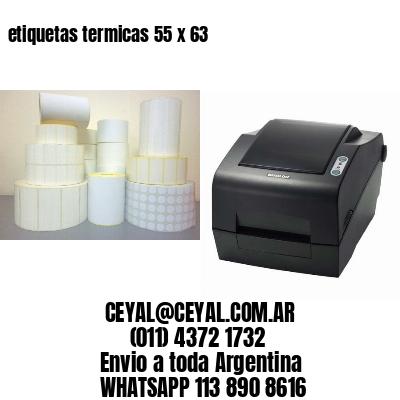etiquetas termicas 55 x 63