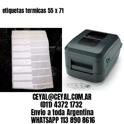 etiquetas termicas 55 x 71
