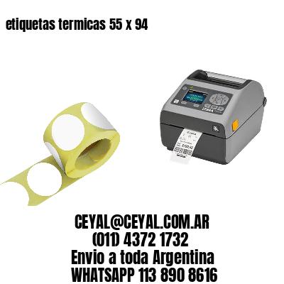 etiquetas termicas 55 x 94