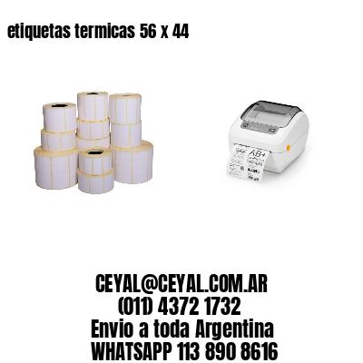 etiquetas termicas 56 x 44