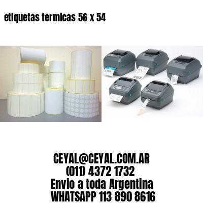 etiquetas termicas 56 x 54
