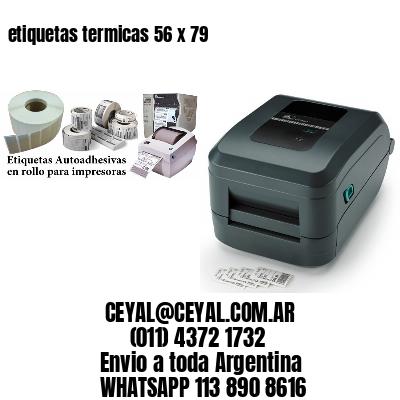 etiquetas termicas 56 x 79
