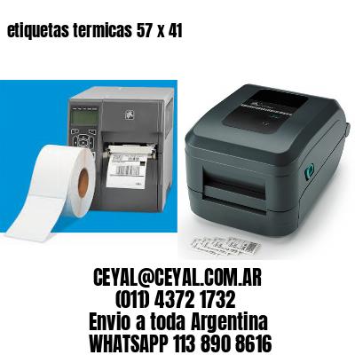 etiquetas termicas 57 x 41