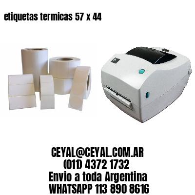 etiquetas termicas 57 x 44