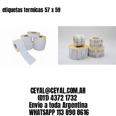 etiquetas termicas 57 x 59