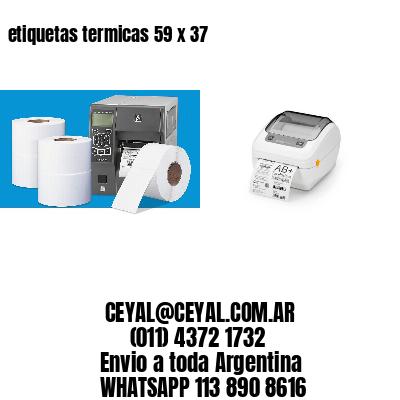 etiquetas termicas 59 x 37