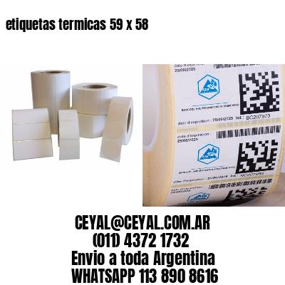 etiquetas termicas 59 x 58