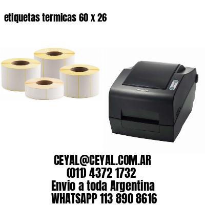 etiquetas termicas 60 x 26