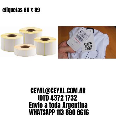 etiquetas 60 x 89