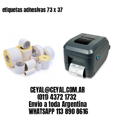 etiquetas adhesivas 73 x 37