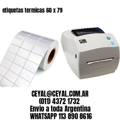 etiquetas termicas 60 x 79