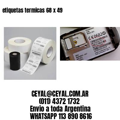 etiquetas termicas 68 x 49