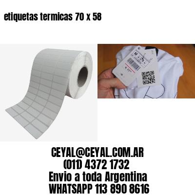 etiquetas termicas 70 x 58