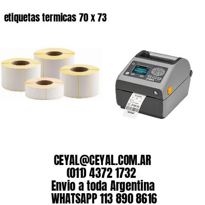 etiquetas termicas 70 x 73