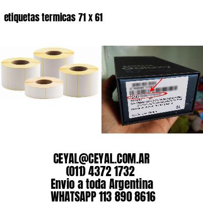 etiquetas termicas 71 x 61