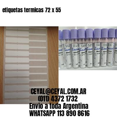 etiquetas termicas 72 x 55