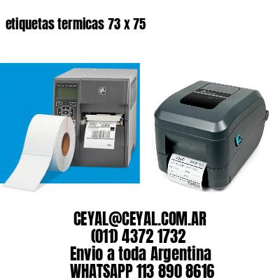 etiquetas termicas 73 x 75
