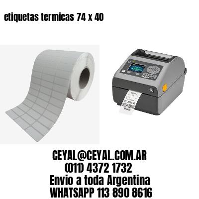 etiquetas termicas 74 x 40