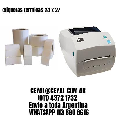 etiquetas termicas 24 x 27
