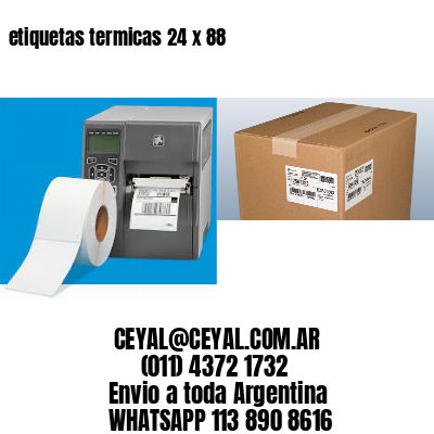 etiquetas termicas 24 x 88