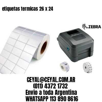 etiquetas termicas 26 x 24