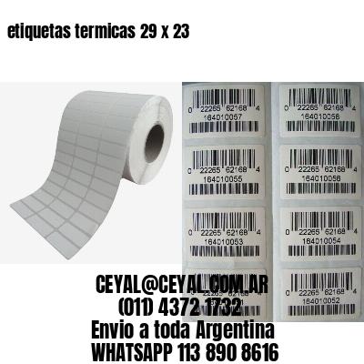etiquetas termicas 29 x 23