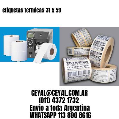 etiquetas termicas 31 x 59