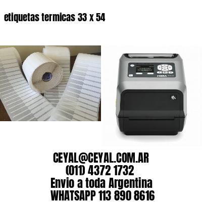 etiquetas termicas 33 x 54