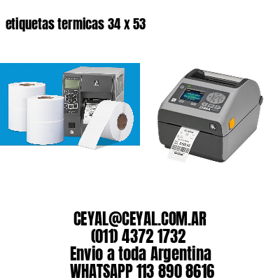 etiquetas termicas 34 x 53