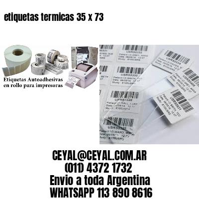 etiquetas termicas 35 x 73