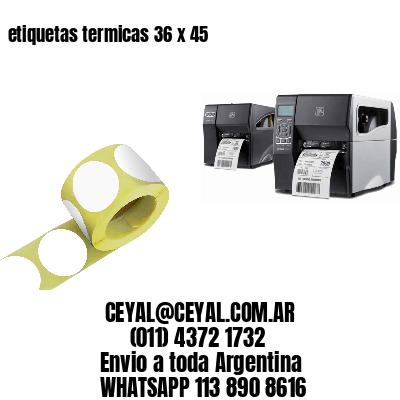 etiquetas termicas 36 x 45