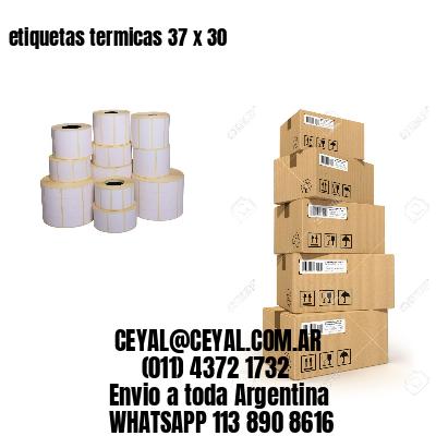 etiquetas termicas 37 x 30