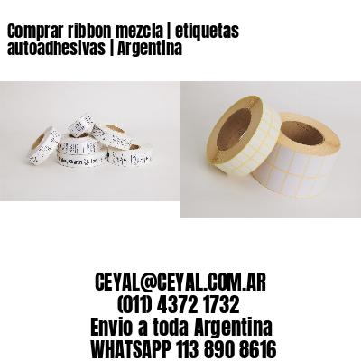 Comprar ribbon mezcla | etiquetas autoadhesivas | Argentina