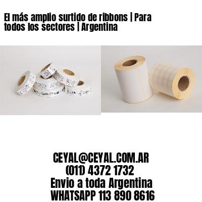 El más amplio surtido de ribbons | Para todos los sectores | Argentina