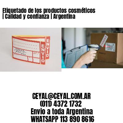 Etiquetado de los productos cosméticos | Calidad y confianza | Argentina