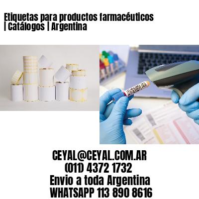 Etiquetas para productos farmacéuticos | Catálogos | Argentina