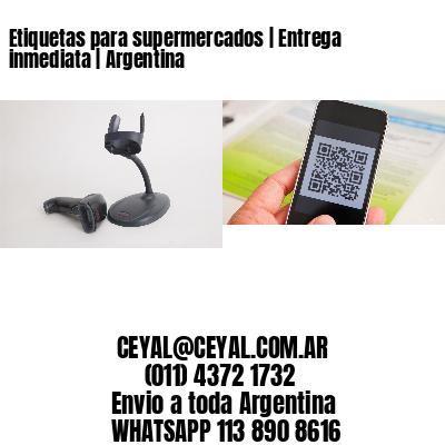 Etiquetas para supermercados | Entrega inmediata | Argentina
